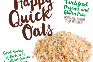ORGANIC HAPPY QUICK OATS
