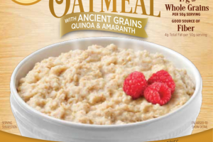 UNSWEETENED WITH ANCIENT GRAINS QUINOA & AMARANTH INSTANT OATMEAL