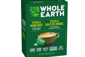 STEVIA & MONK FRUIT PLANT-BASED SWEETENER