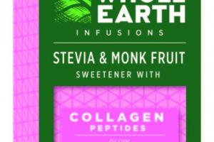 STEVIA & MONK FRUIT SWEETENER WITH GLOW COLLAGEN PEPTIDES STICKS