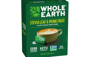 STEVIA LEAF & MONK FRUIT PLANT-BASED SWEETENER