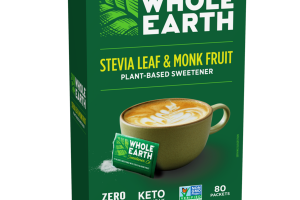 STEVIA LEAF & MONK FRUIT PLANT-BASED SWEETENER PACKETS
