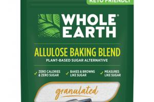 GRANULATED ALLULOSE BAKING BLEND PLANT-BASED SUGAR ALTERNATIVE