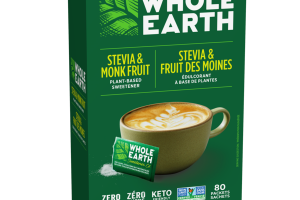 STEVIA & MONK FRUIT PLANT-BASED SWEETENER PACKETS