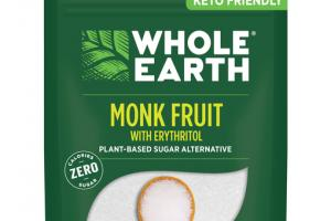 MONK FRUIT WITH ERYTHRITOL PLANT-BASED SUGAR ALTERNATIVE