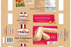 SOFT LADYFINGERS FRENCH SPONGE FINGER COOKIES