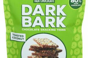 80% DARK BARK CHOCOLATE SNACKING THINS