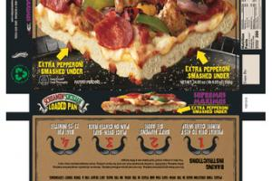 SUPREMUS MAXIMUS WHOLE MILK MOZZARELLA, TOMATO SAUCE, PEPPERONI, ITALIAN SAUSAGE, RED, GREEN & YELLOW PEPPERS, ONION PIZZA
