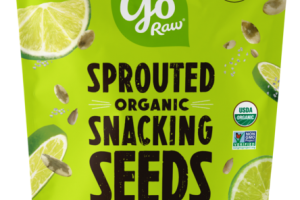 SIMPLY LIME SPROUTED ORGANIC SNACKING SEEDS