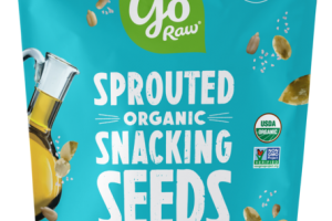 SEA SALT & VINEGAR ORGANIC SPROUTED SNACKING SEEDS