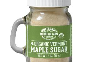 MAPLE SUGAR ORGANIC VERMONT
