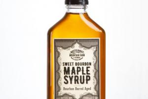 SWEET BOURBON MAPLE SYRUP