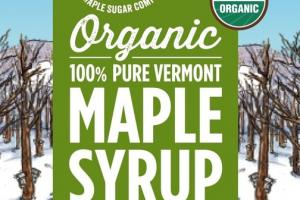 ORGANIC 100% PURE VERMONT MAPLE SYRUP
