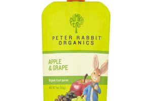 APPLE & GRAPE ORGANIC FRUIT PUREE