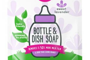 BABY BOTTLE & DISH SOAP SWEET LAVENDER