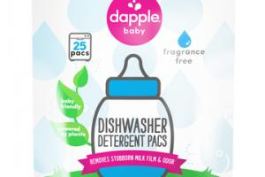 FRAGRANCE FREE DISHWASHER DETERGENT PACS