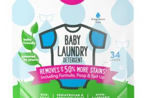 BABY LAUNDRY DETERGENT FRAGRANCE FREE