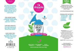 PLANT-BASED BREAST PUMP WIPES