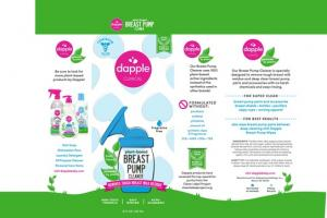 PLANT-BASED BREAST PUMP CLEANER