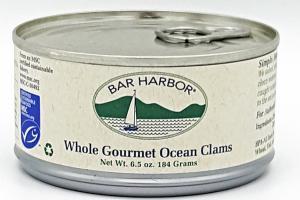 WHOLE GOURMET OCEAN CLAMS