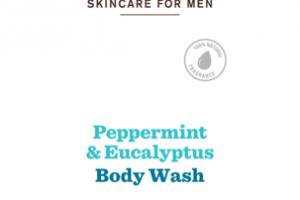 BODY WASH, PEPPERMINT & EUCALYPTUS