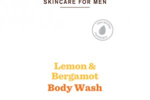BODY WASH, LEMON & BERGAMOT