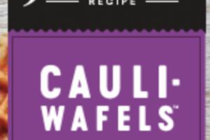 ORIGINAL CLASSIC RECIPE CAULIFLOWER WAFELS