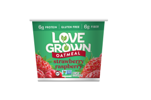 STRAWBERRY RASPBERRY OATMEAL