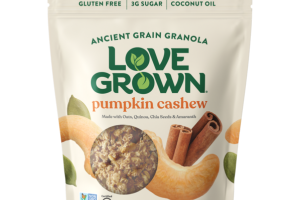 PUMPKIN CASHEW ANCIENT GRAIN GRANOLA