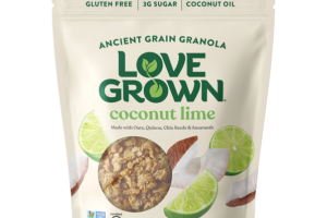 GLUTEN FREE COCONUT LIME ANCIENT GRAIN GRANOLA