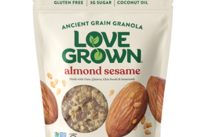 ALMOND SESAME ANCIENT GRAIN GRANOLA