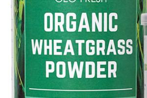 ORGANIC WHEATGRASS IMMUNITY BOOSTER DIETARY SUPPLEMENT POWDER