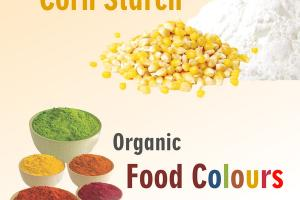 ORGANIC CORN STARCH FOOD COLOURS
