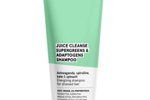 JUICE CLEANSE SUPERGREENS & ADAPTOGENS SHAMPOO