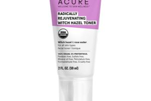 RADICALLY REJUVENATING WITCH HAZEL TONER