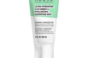 ULTRA HYDRATING CUCUMBER & HYALURONIC SUPERFINE MIST