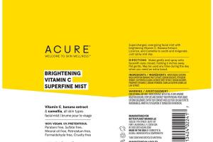 BRIGHTENING VITAMIN C SUPERFINE MIST