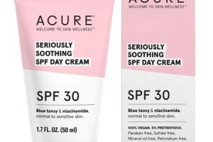 SERIOUSLY SOOTHING SPF 30 DAY CREAM