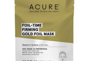 FOIL-TIME FIRMING GOLD FOIL MASK