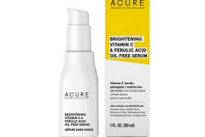 BRIGHTENING VITAMIN C & FERULIC ACID OIL FREE SERUM