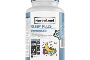 SLEEP PLUS MELATONIN PLUS L-THEANINE, VITAMIN B6 & LEMON BALM ADULTS DIETARY SUPPLEMENT GUMMIES