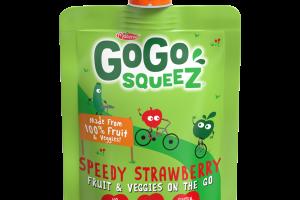 SPEEDY STRAWBERRY FRUIT & VEGGIES ON THE GO