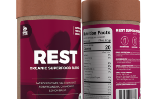 REST ORGANIC SUPERFOOD BLEND