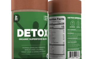 DETOX ORGANIC SUPERFOOD BLEND