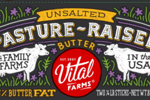 PASTURE-RAISED UNSALTED BUTTER