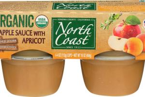 APPLE SAUCE WITH APRICOT