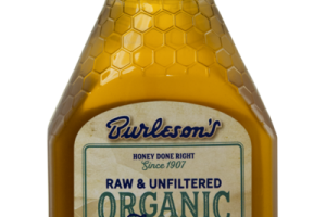RAW & UNFILTERED ORGANIC HONEY