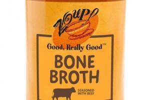 BONE BROTH SEASONED WITH BEEF