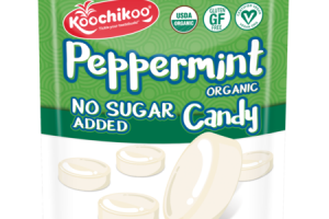 ORGANIC PEPPERMINT CANDY