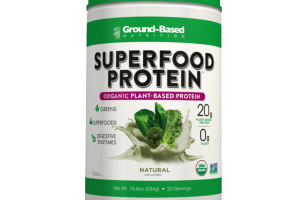 NATURAL UNFLAVORED ORGANIC PLANT-BASED SUPERFOOD PROTEIN